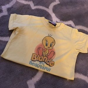 Tops - Yellow t shirt